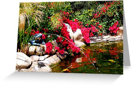 Peaceful Pond by Marie Sharp