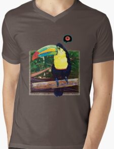 Toucan's Loop Mens V-Neck T-Shirt