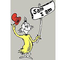 Dr Seuss Sam I Am Photographic Print