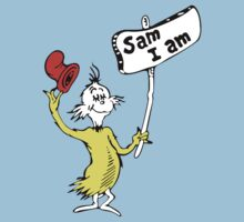 Dr Seuss Sam I Am Kids Tee