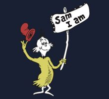 Dr Seuss Sam I Am One Piece - Long Sleeve