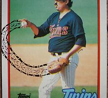 189 - Juan Berenguer by Foob's Baseball Cards
