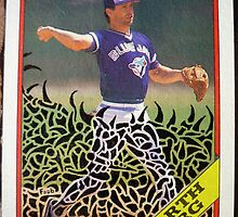 198 - Garth Iorg by Foob's Baseball Cards