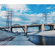 6TH ST Viaduct Photographic Print