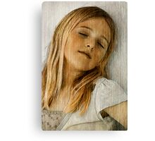 Dreaming Of Growing Up! Canvas Print