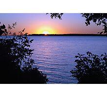 Sunrise at Alcona Beach, Lake Simcoe, Ontario Photographic Print