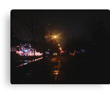 12:33, Christmas near Canvas Print
