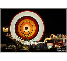SMALL TOWN CARNIVAL Photographic Print