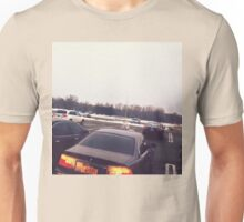 4:56, Rain soaked parking lot Unisex T-Shirt