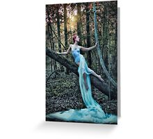 Echoes of a Dryad Greeting Card