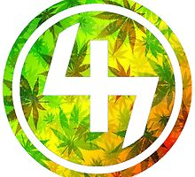 47 (4th and 7th Chakra) Rastafarian Weed by Telic