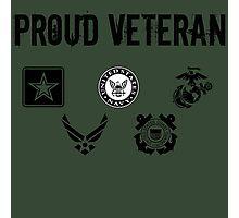 Proud Veteran Photographic Print