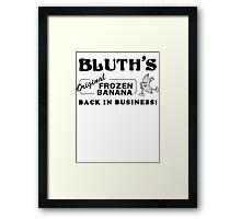 Bluth Banana Stand Framed Print