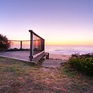 Lookout in Tathra by Christopher Meder