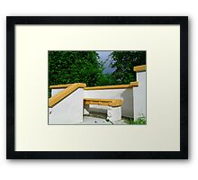 Spice Hill Framed Print