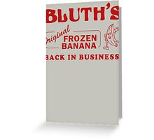Bluth Banana Stand Greeting Card