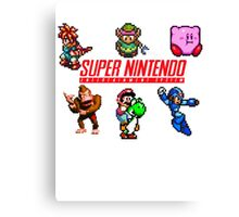 Super Nintendo Canvas Print