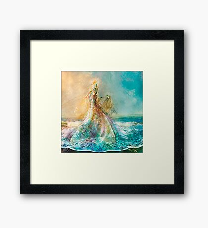 The Shell Maiden Framed Print