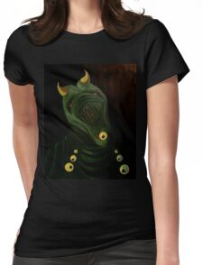 Demon Womens Fitted T-Shirt