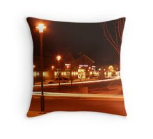 Mystery Shopper Throw Pillow
