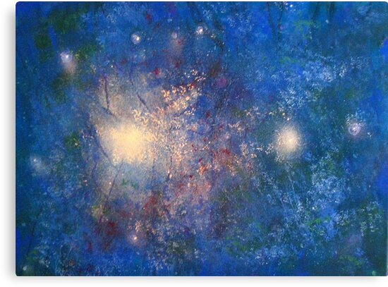 Starshower Sector by sally seabright