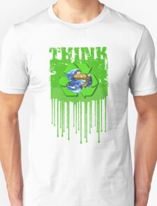 bleed green and thin T-Shirt