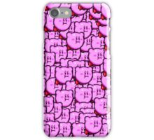 Kirby WTF !!! iPhone Case/Skin
