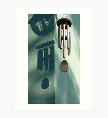 In the shadow of chime..... Art Print