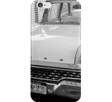 1959 Ford Fairlane-b&w iPhone Case/Skin