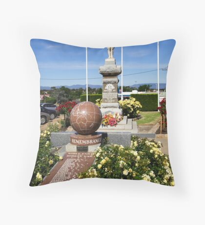 Stawell War Memorial Throw Pillow