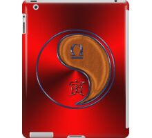 Libra & Tiger Yang Wood iPad Case/Skin