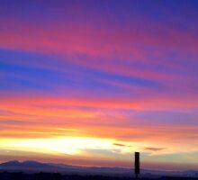 Vegas Sunrise by kaylaoconnor