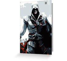 Assassin's Creed II Ezio Greeting Card