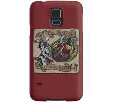 The Mind is the Key to the Heart (crimson)  Samsung Galaxy Case/Skin