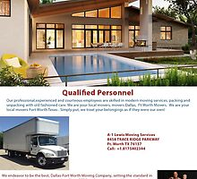 Movers Fort Worth by a1lewismoving