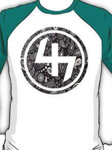 47 (4th and 7th Chakra) Bandanna Gangster Pattern   T-Shirt