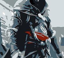 Assassin's Creed Revelations Ezio Minimalistic by MillsLayne