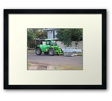 Re-Roofing Made Light Work Framed Print