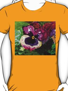 IMPRESSIONISTIC PANSEY T-Shirt