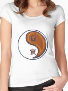 Libra & Tiger Yang Wood Women's Fitted Scoop T-Shirt