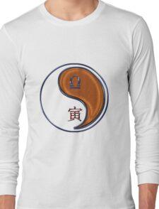 Libra & Tiger Yang Wood Long Sleeve T-Shirt