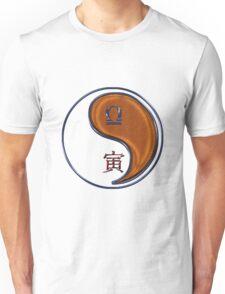 Libra & Tiger Yang Wood Unisex T-Shirt
