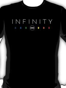 Infinity - White Clean T-Shirt