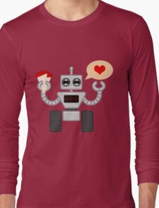 The Robot Who Loved Long Sleeve T-Shirt