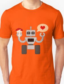 The Robot Who Loved Unisex T-Shirt