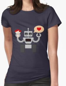 The Robot Who Loved Womens T-Shirt