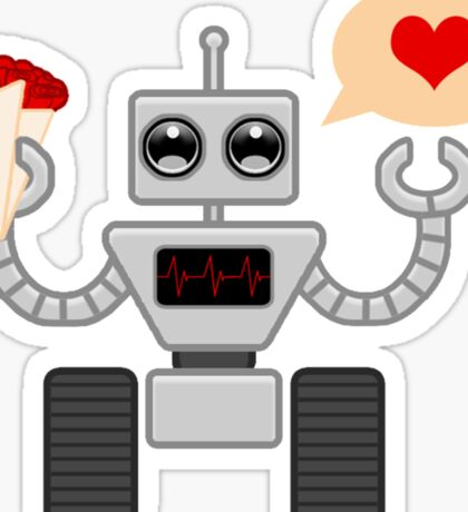 The Robot Who Loved Sticker