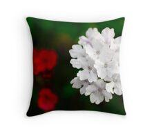 Flower image Throw Pillow