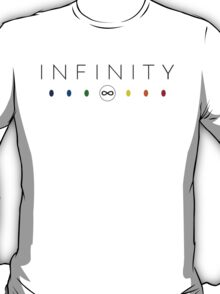 Infinity - Black Clean T-Shirt