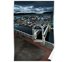 Nanaimo Harbor Poster